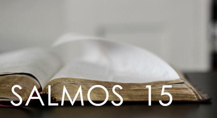 SALMOS 15