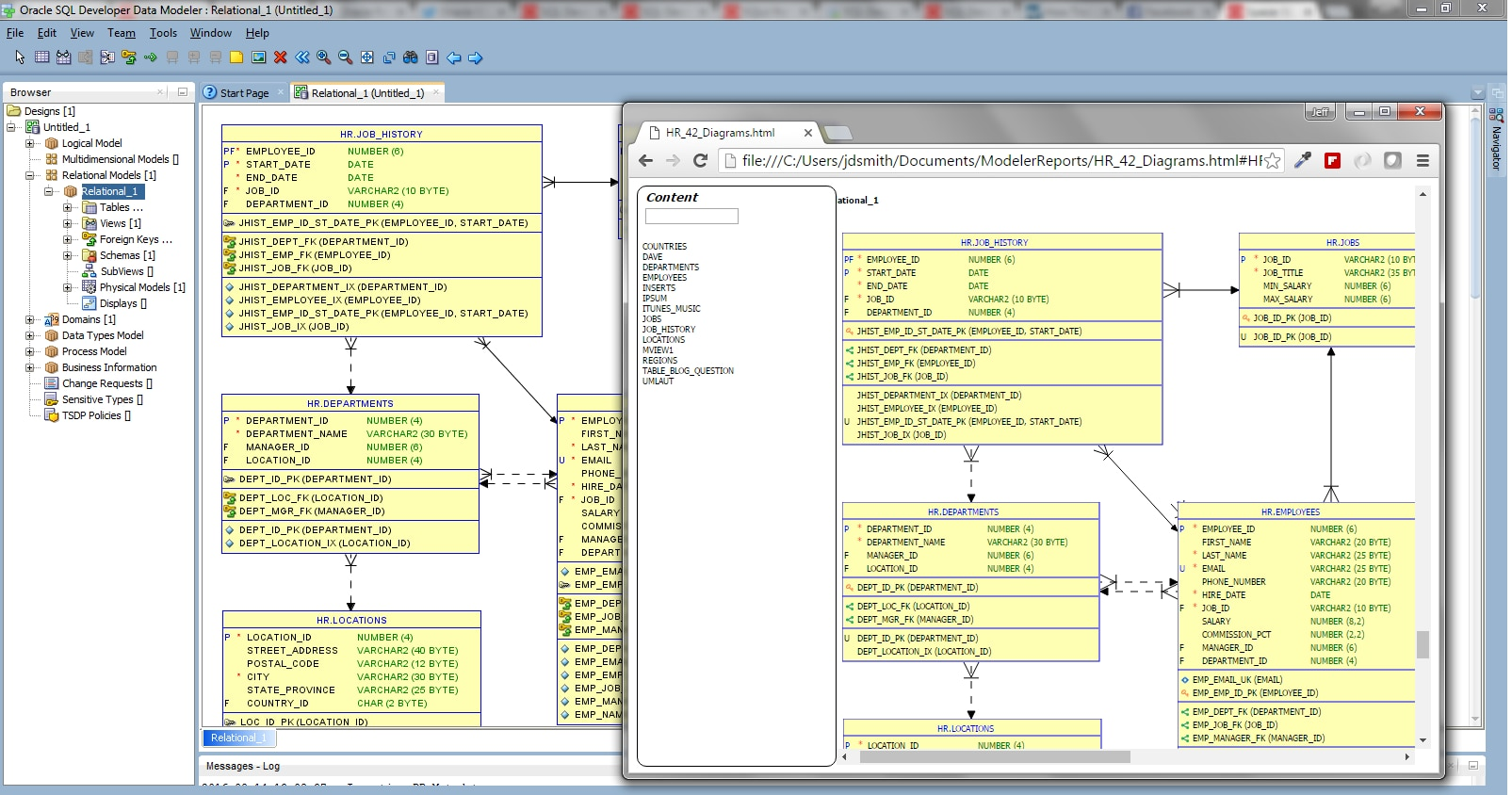 pl sql developer diagram window 1999 jeep grand cherokee stereo wiring data modeler new features 4 2