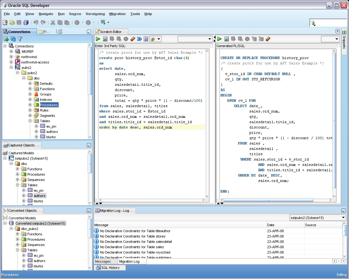 What is SQL Developer