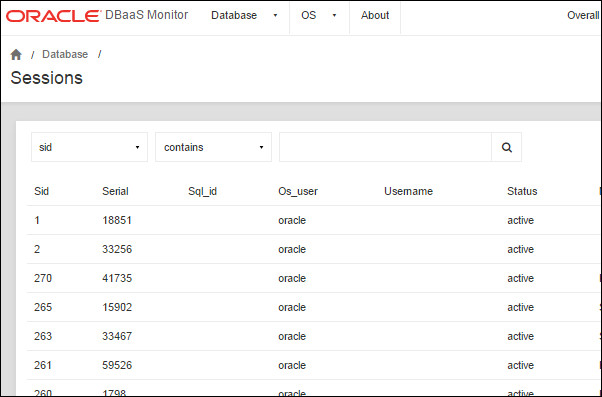 Oracle Database Cloud Service (DBaaS) Quick Start