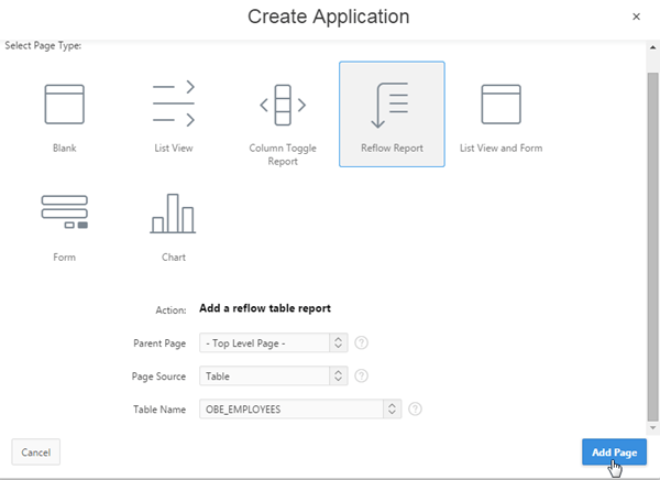 Building a Mobile Web Application Using Oracle Application