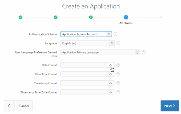 Developing Applications using Oracle Application Express 5