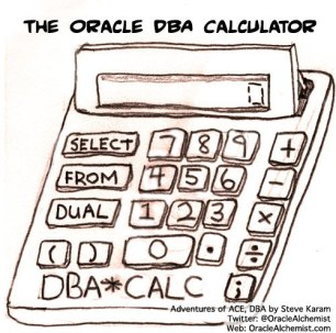 The Oracle DBA Calculator