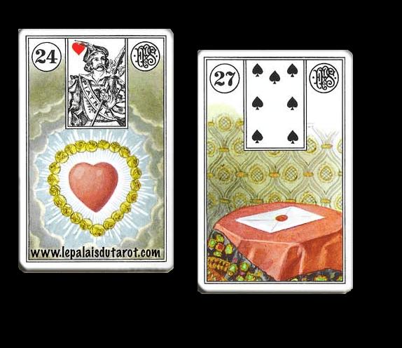 Signification du tarot Lenormand