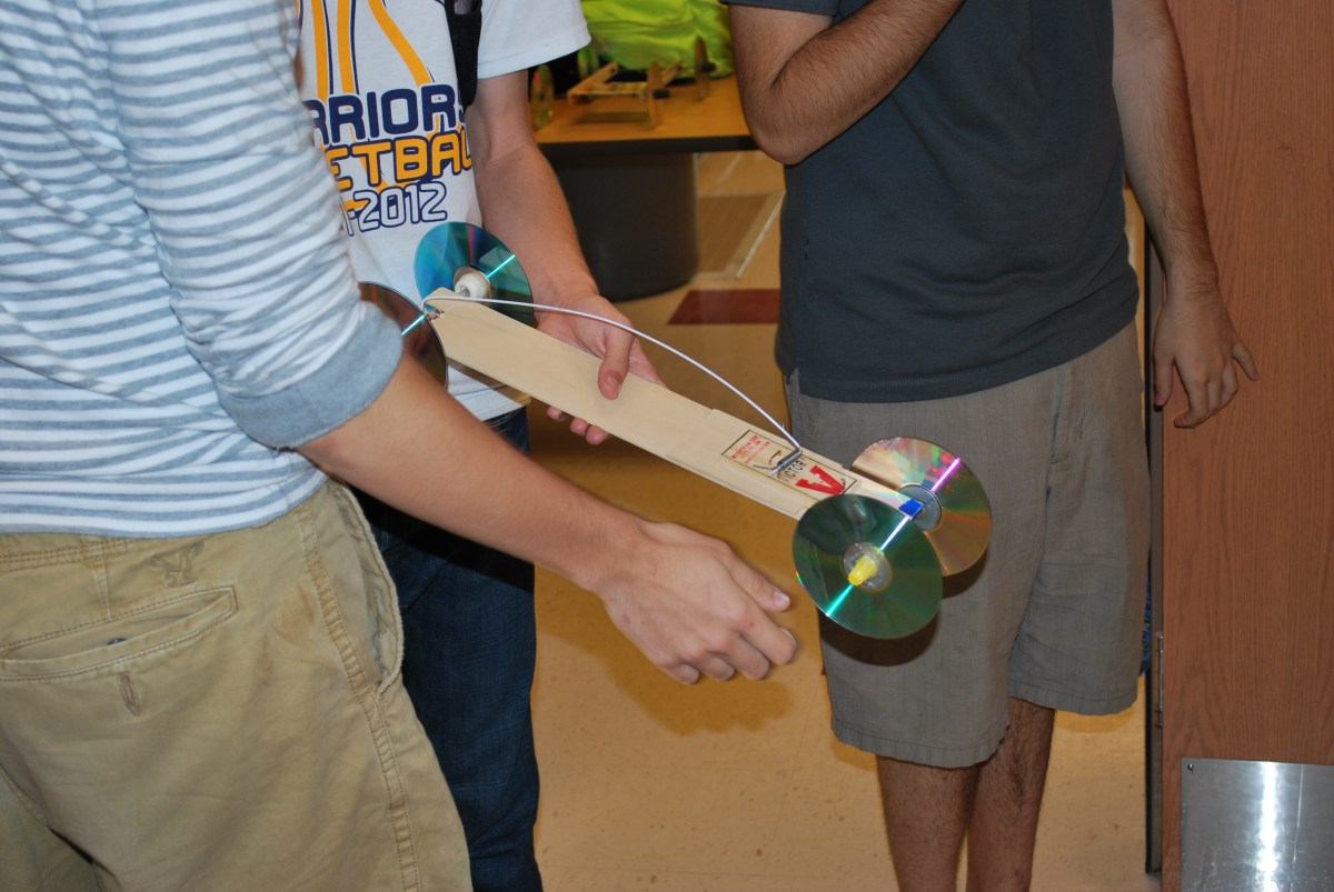 Students put physics projects to the test