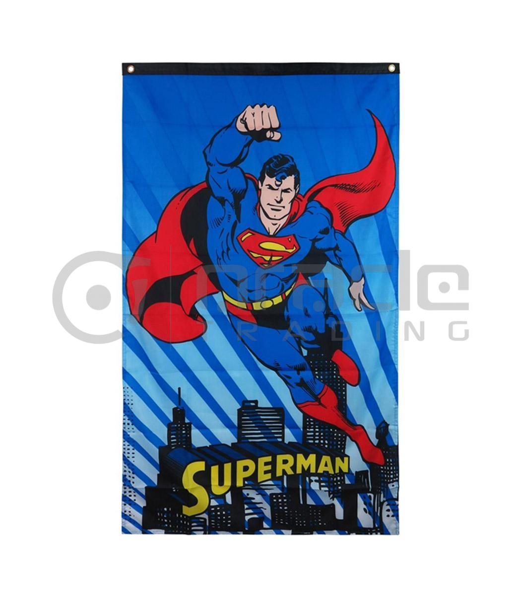 dc comics superman flying
