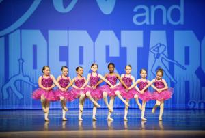 children performing in dance recital
