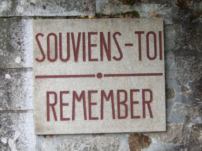 Souviens Toi - Remember!