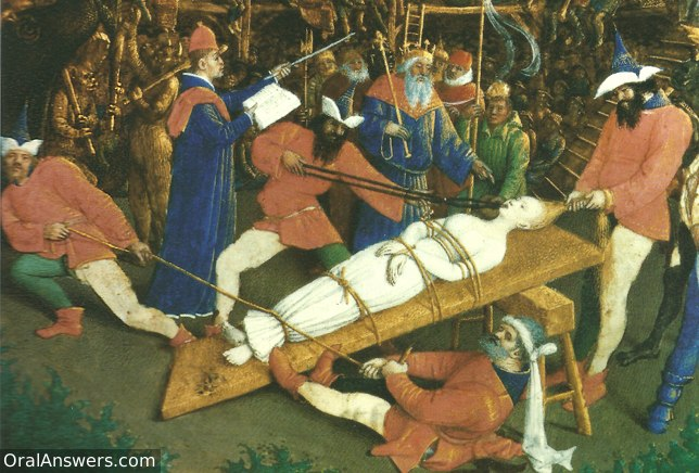 Martyrdom of St. Apollonia - Dental History
