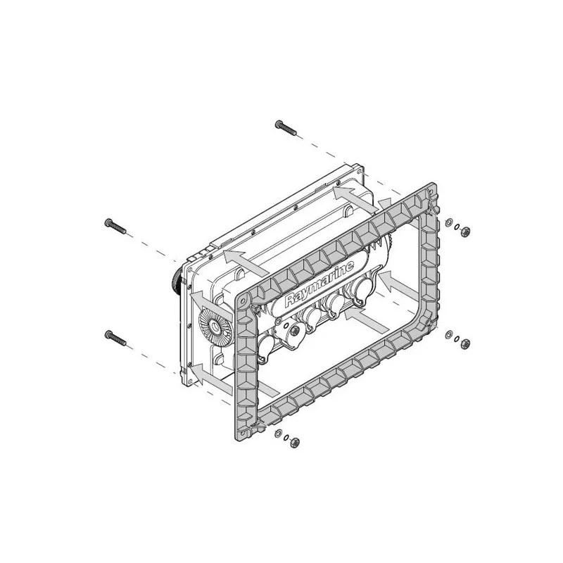 Kit di montaggio a incasso per eS7