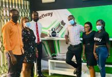 Orange FM presents cake to Betway Ghana