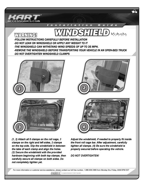 small resolution of windshield installation guide