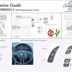 Steering Wheel Control Wiring Diagrams 1997 Acura Integra Radio Diagram Bmw 3 E46 1999 2005 Fitting Kit And Adaptor