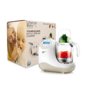 Cherub Baby Steamer Blender Bottle Steriliser and Warmer