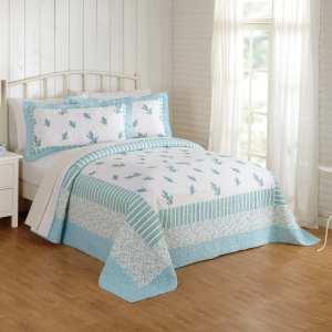 bell-غطاء سرير قطن 100% مزدوج 3 قطع