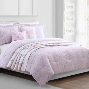 maisie-pink-طقم-لحاف-مفرد صغير