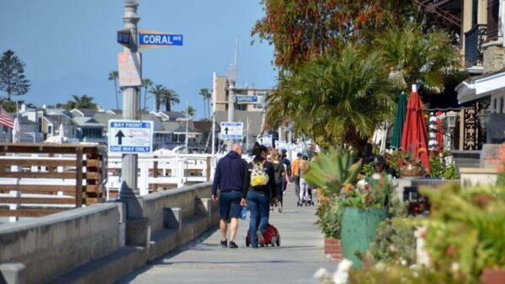 Balboa Island Newport Beach California