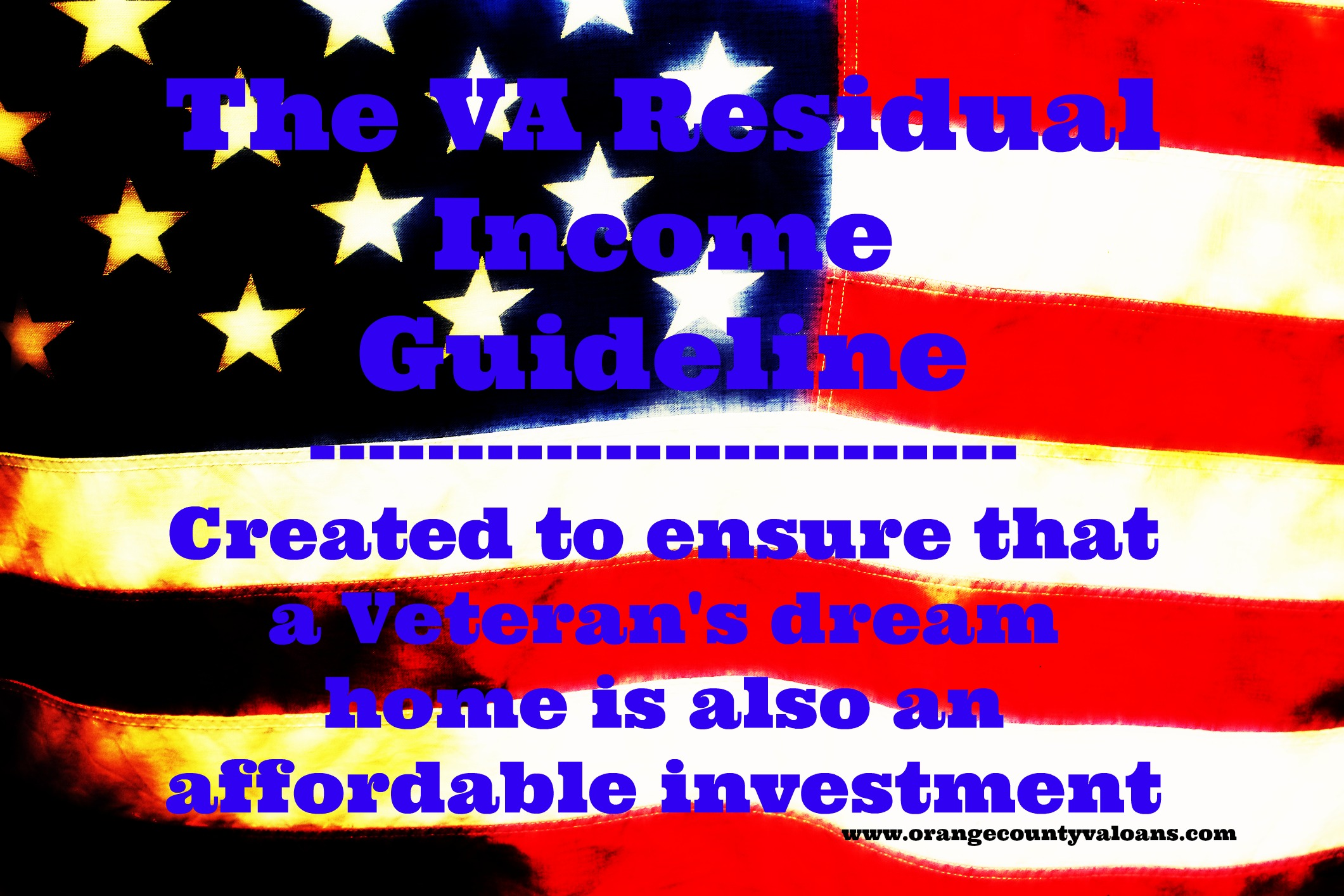 Residual Income And How It Can Affect Your Va Loan In The Oc