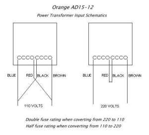 Plugging in a Tiny Terror to 220V instead of 110V?  Page