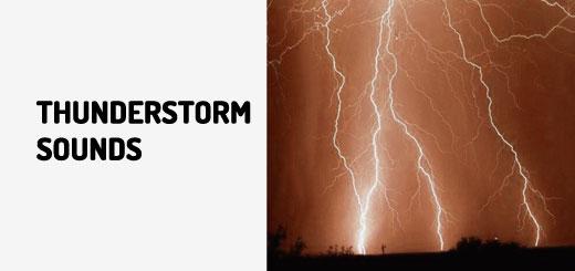 Thunderstorm Sounds | Orange Free Sounds