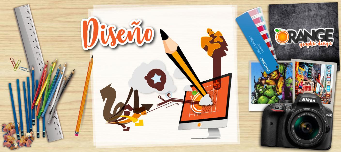 Diseño Gráfico - orange publicidad - agencia de publicidad