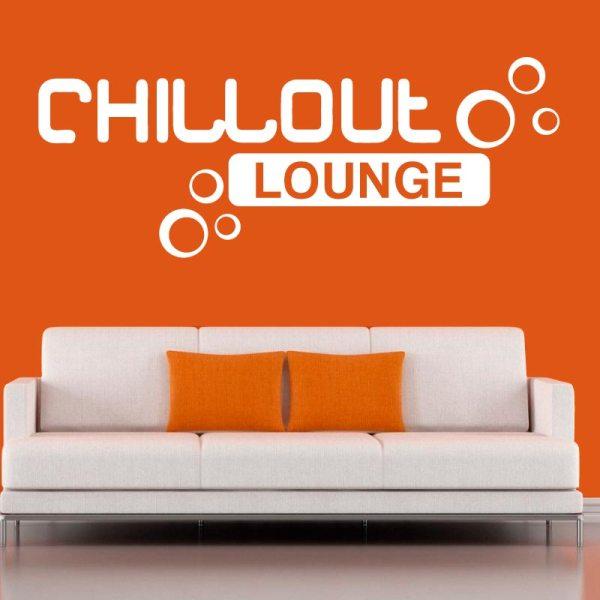 Vinilo decorativo - chillout lounge