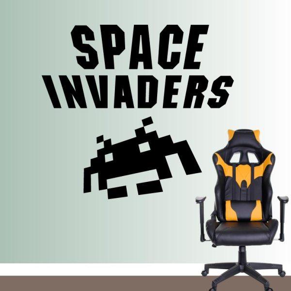 Vinilo-Decorativo-space-invaders