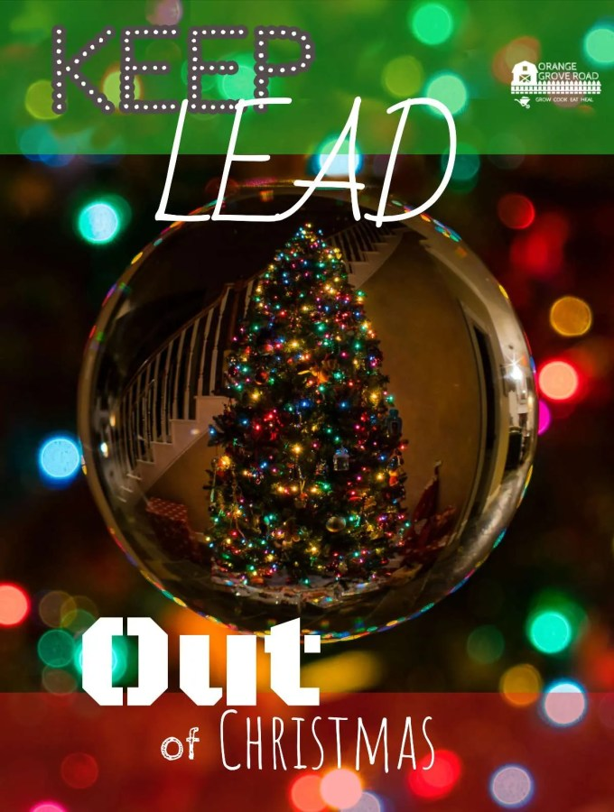 Keep Lead Out Of Christmas