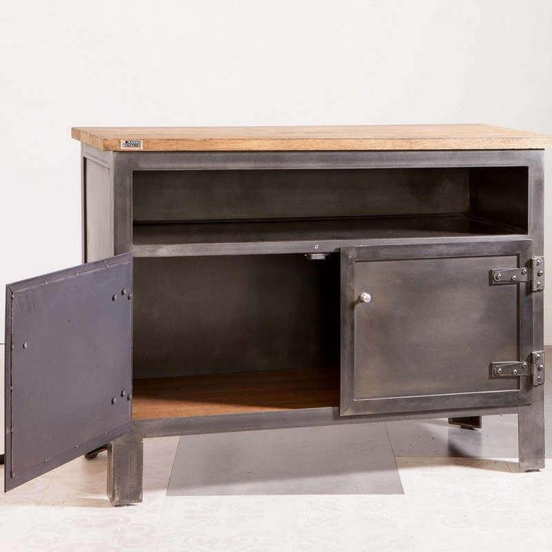meuble tv a portes