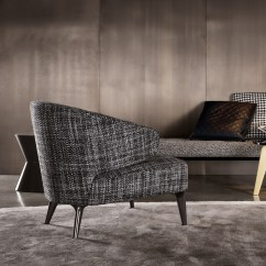 Leather Or Fabric Sofa For Family Room Milano Dual Facing Corner Minotti Aston Lounge Chair Orange Skin