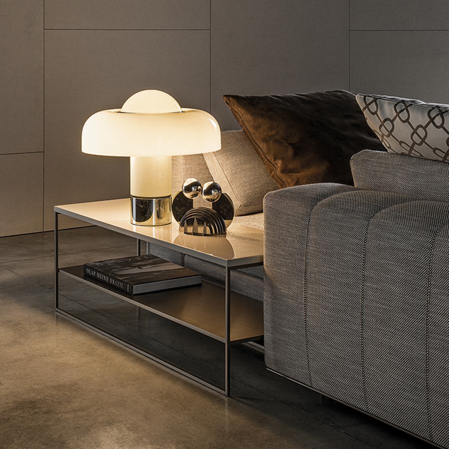 Calder Bronze Side Table  Designed by Rodolfo Dordini