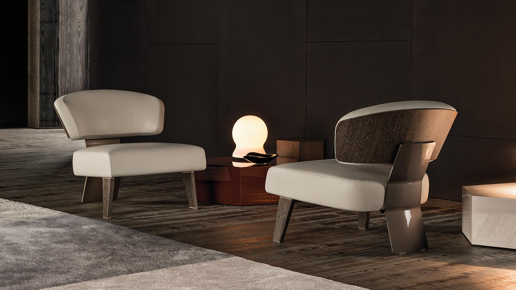 Creed Wood  Designed by Rodolfo Dordini Minotti Orange Skin