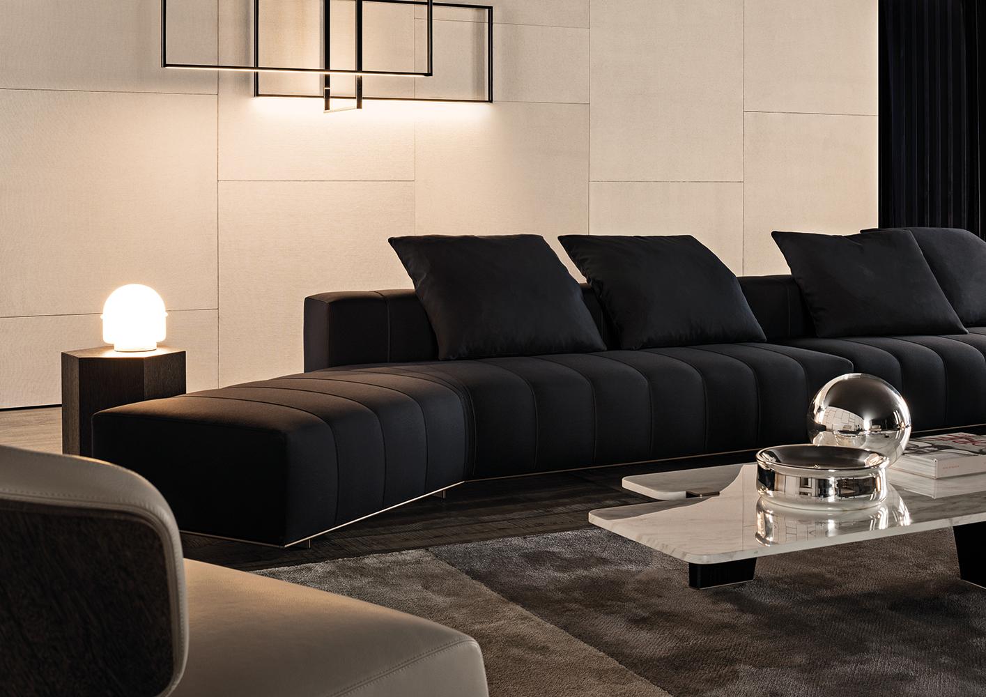 Freeman Lounge Designed by Rodolfo Dordini Minotti