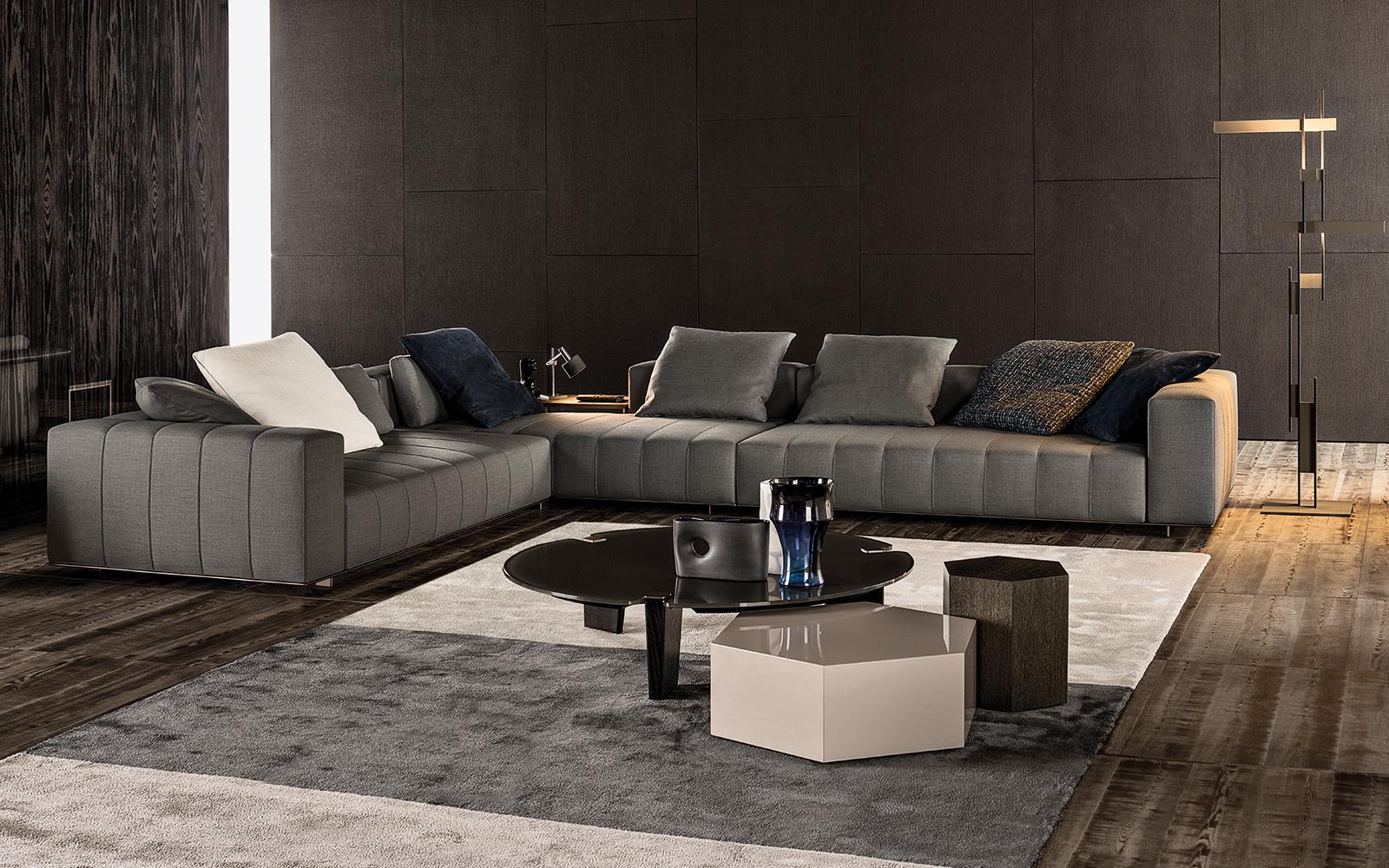 contemporary leather sofa sleeper sofas austin tx freeman tailor| designed by; rodolfo dordini, minotti ...