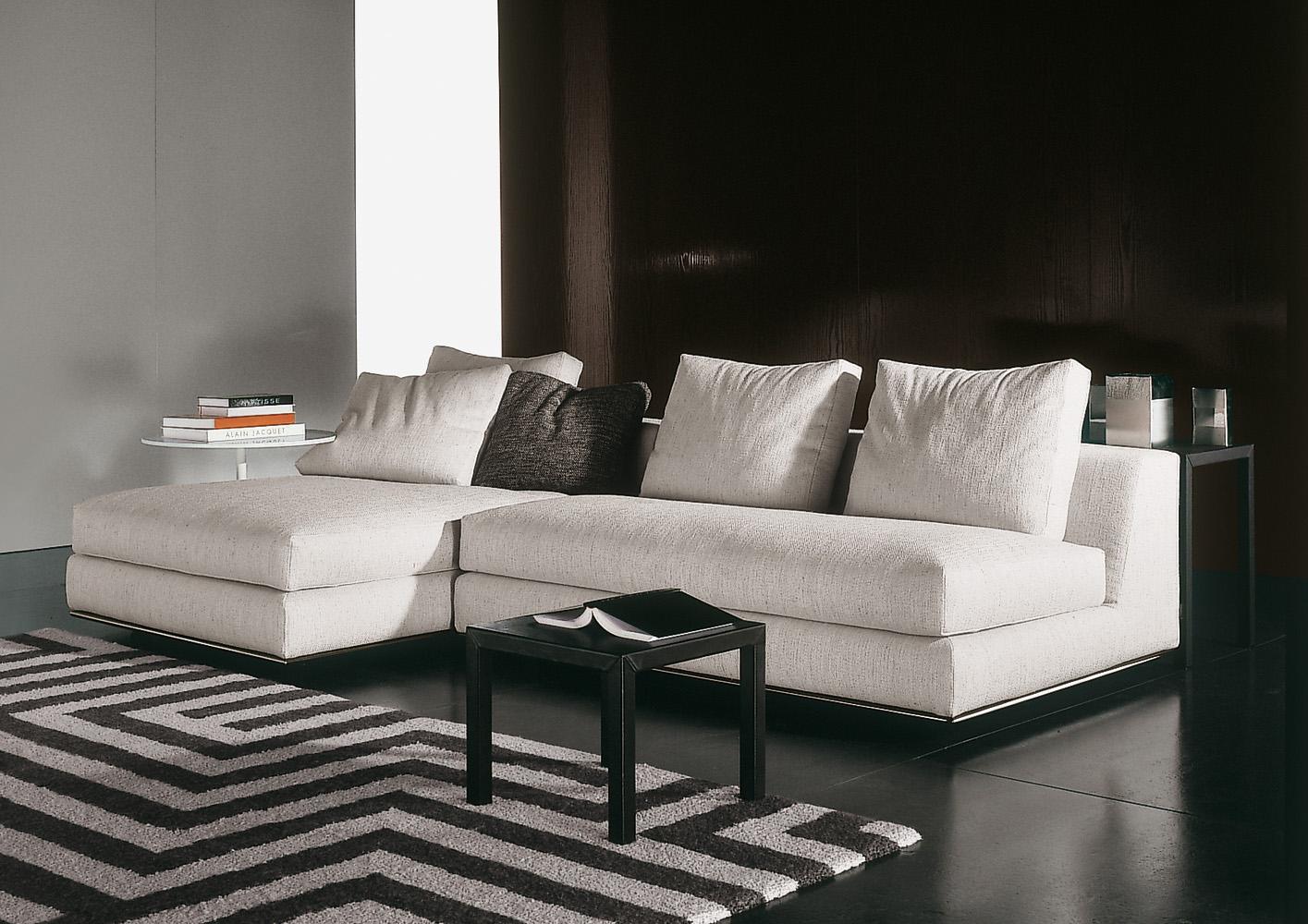 Hamilton Modulo Designed By Rodolfo Dordoni Minotti Orange Skin 03 Minotti  Sectional Sofa