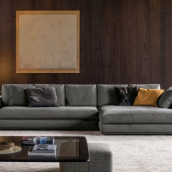 Material And Leather Sofa Diy Upholstery Instructions Hamilton | Designed By Rodolfo Dordoni, Minotti ...