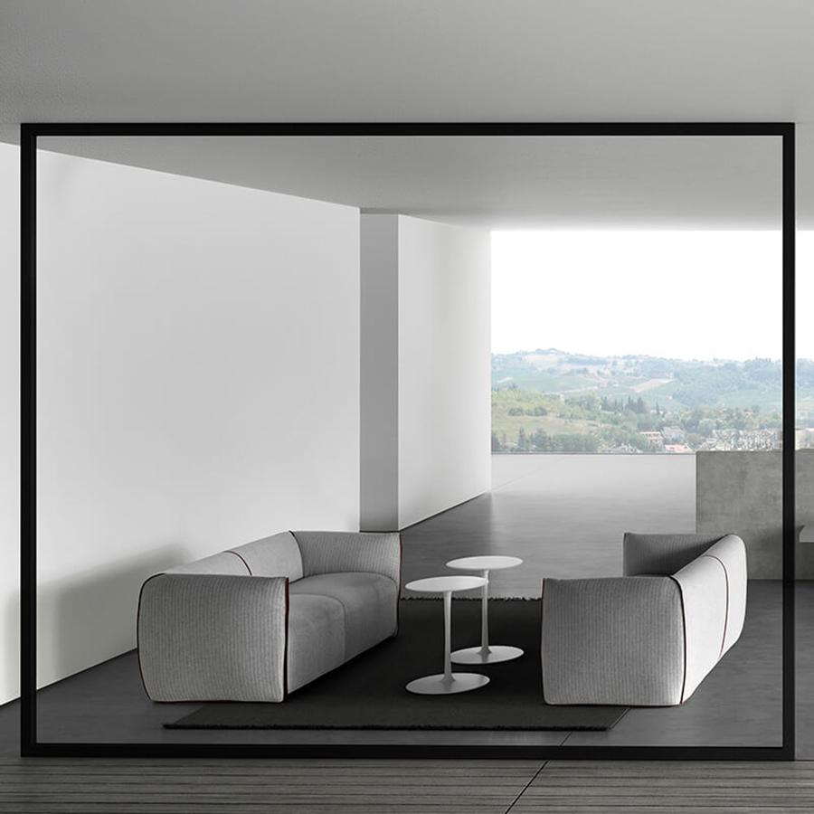 sofa foam padding large double clic clac bed mia | designed by francesco bettoni, mdf italia ...
