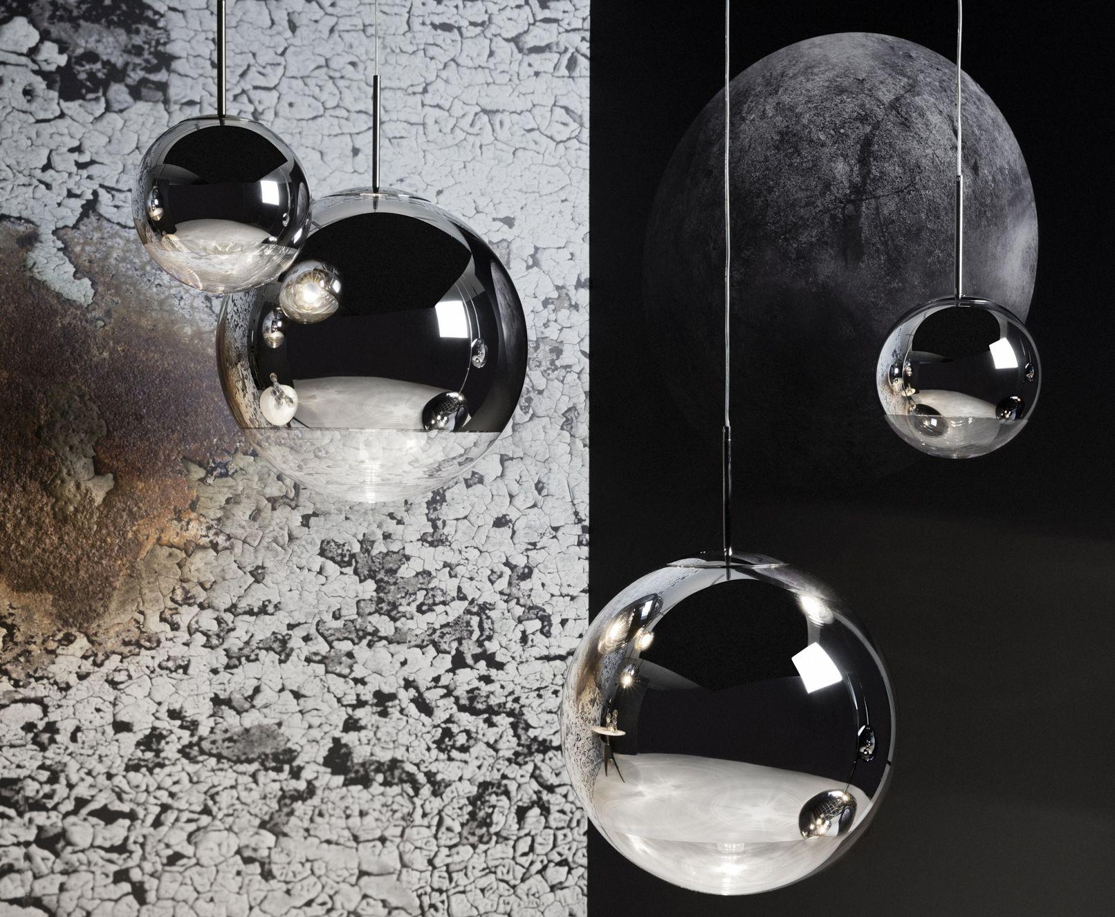 copper pendant light kitchen memory foam mats mirror ball | designed by tom dixon, orange skin