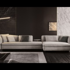 Fabric Material For Sofa Julius 5 Piece Leather Power Motion Chaise Sectional Seymour | Designed By Rodolfo Dordoni, Minotti ...