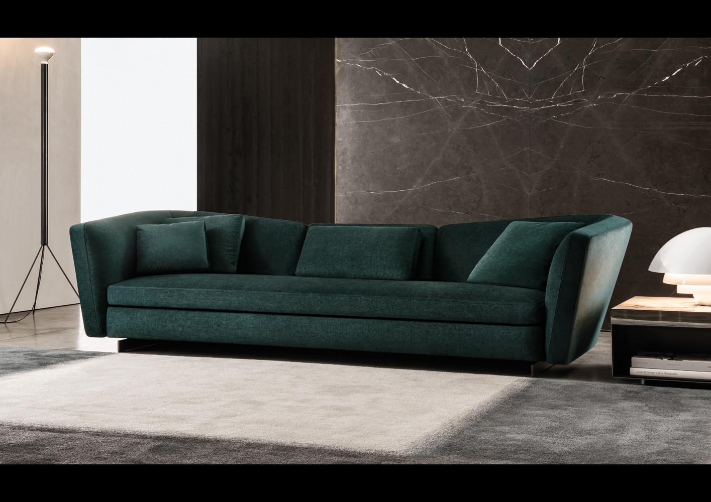material and leather sofa serta upholstery regular sleeper seymour | designed by rodolfo dordoni, minotti ...