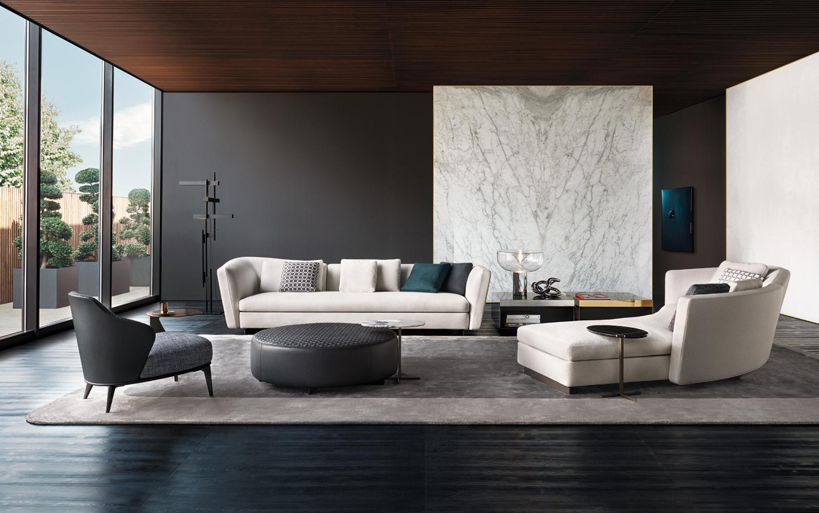 Seymour Sofa  Designed By Rodolfo Dordoni Minotti