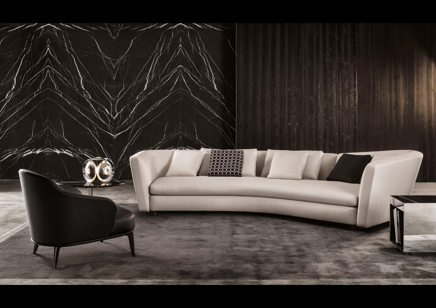 soft sofa material full size leather bed seymour   designed by rodolfo dordoni, minotti ...