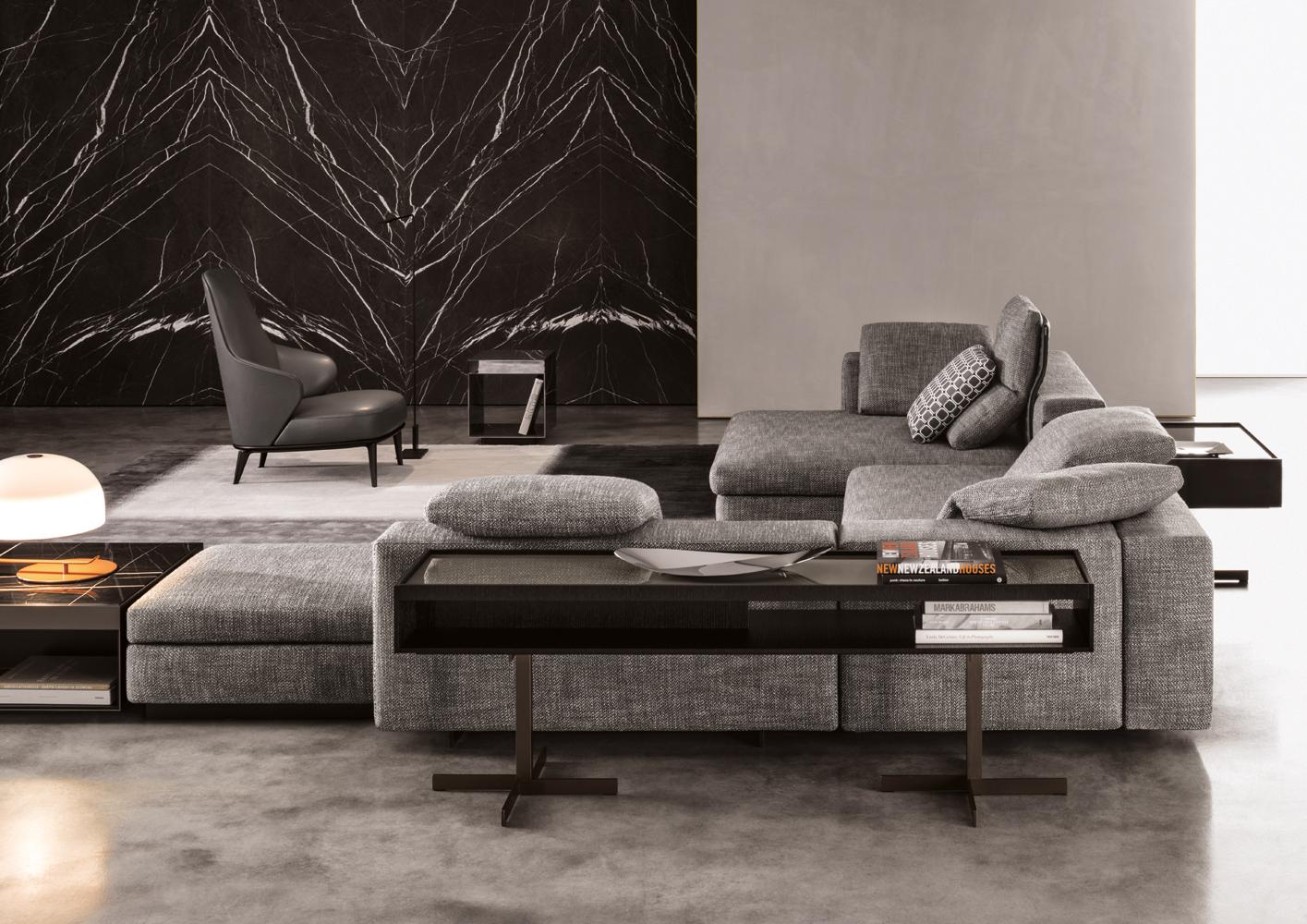Yang Sofa  Designed By Rodolfo Dordoni for Minotti