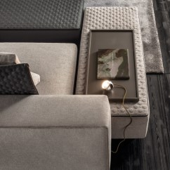 Sofa Seat Covers Leather Cleaning With Vinegar And Olive Oil Yang Chaise | Designed By Rodolfo Dordoni For Minotti ...