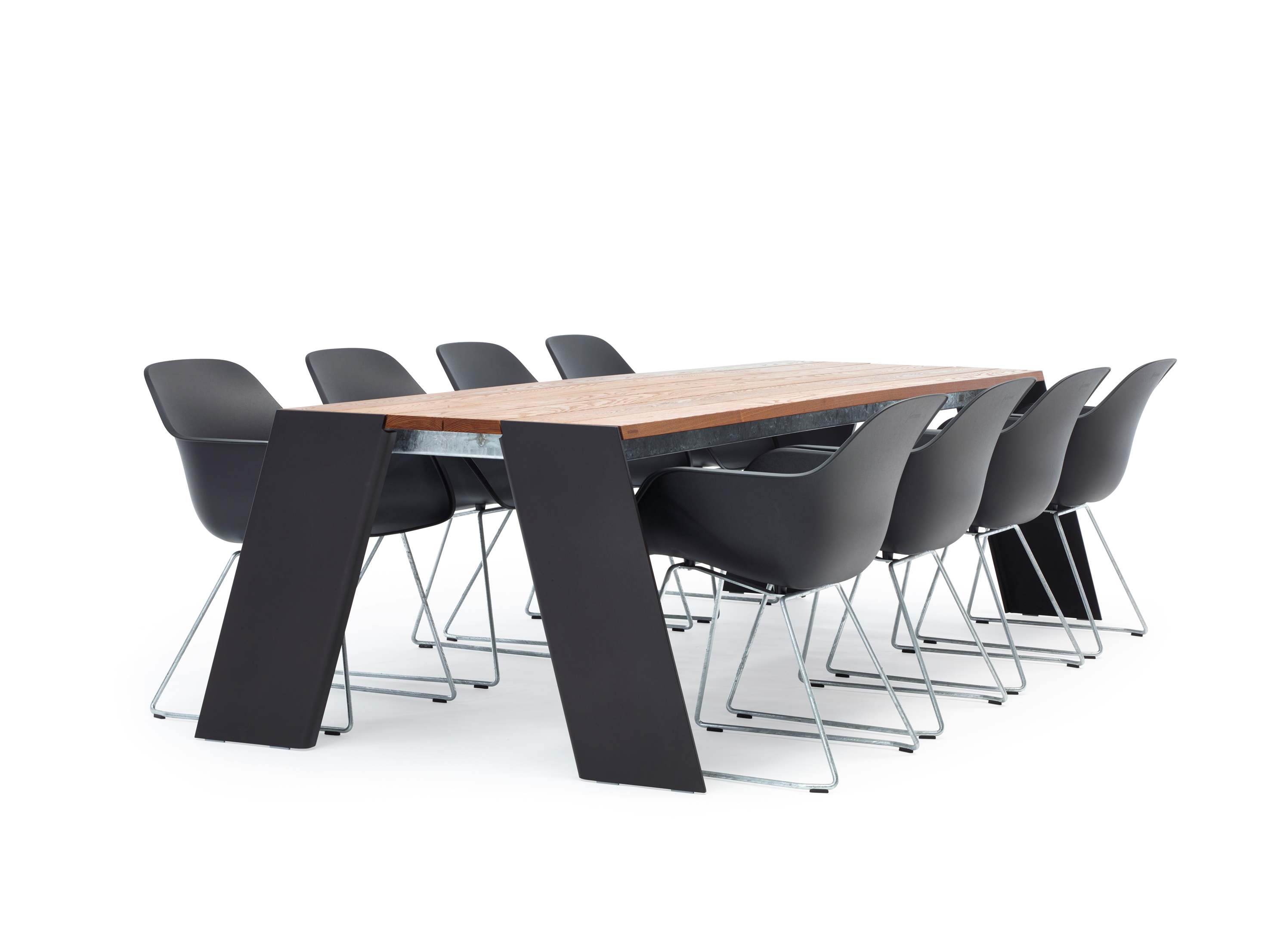 Hopper Table Dirk Wynants Extremis Orangeskin