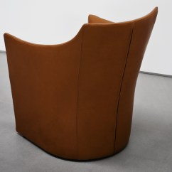 Metal Armchair Chair Cover Decorations For Wedding Mayfair | Designed By Christophe Pillet, Tacchini, Orange Skin