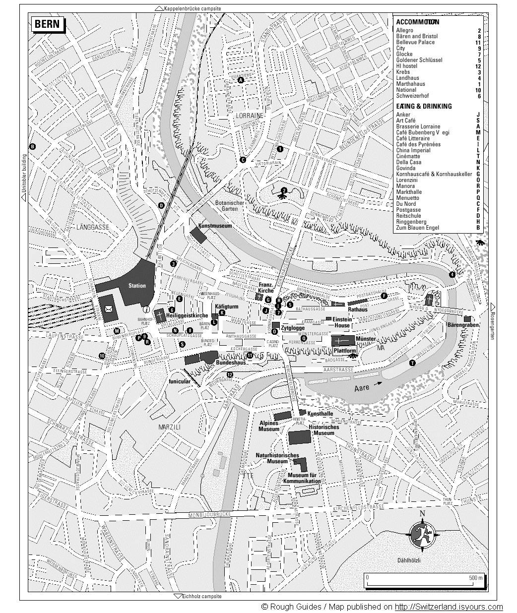 Large Bern Maps For Free Download And Print