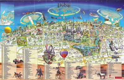 Large Dubai Maps for Free Download and Print | High ...