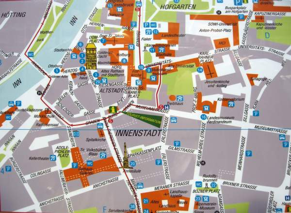 Large Innsbruck Maps for Free Download and Print High