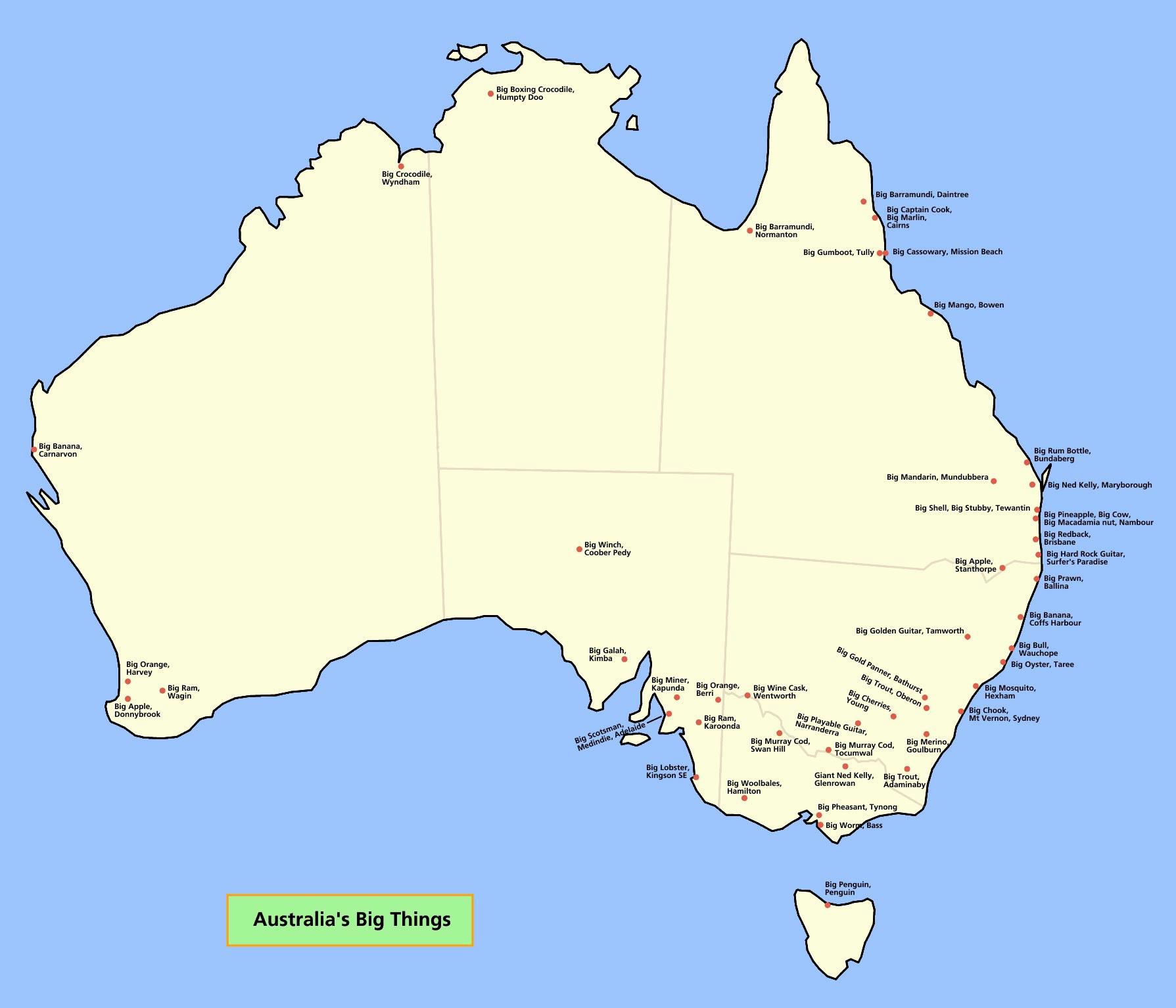 Australia Maps